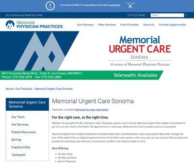 STD Testing at Memorial Urgent Care – Sonoma