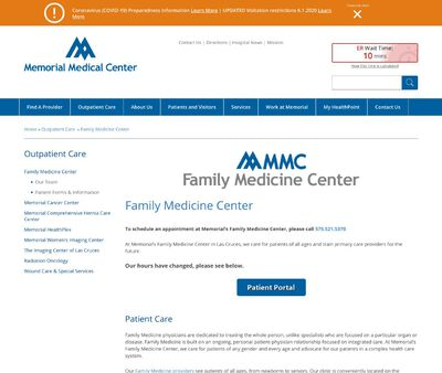 STD Testing at MMC Family Medicine Center