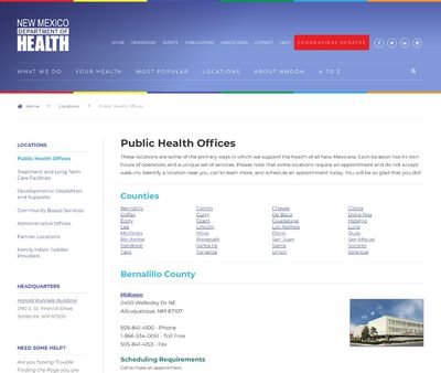 STD Testing at New Mexico Department of Health