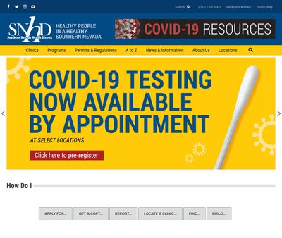 STD Testing at Southern Nevada Health District (Sexual Health Clinic)