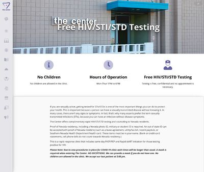STD Testing at The STD testing clinic at The Center