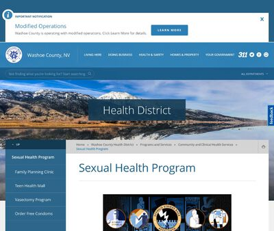 STD Testing at WashoeCounty Health Department