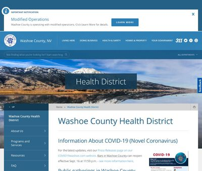 STD Testing at Washoe County Health District