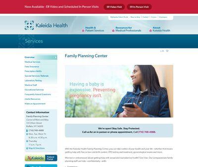 STD Testing at Kaleida Health (Family Planning Center)