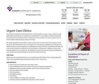 STD Testing at Urgent Care of Auburn