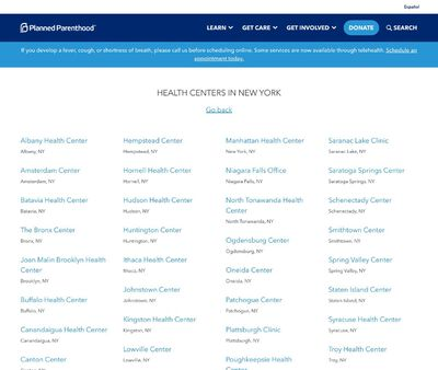 STD Testing at Upper Hudson Planned Parenthood Incorporated-Albany Health Center