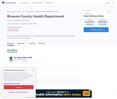 STD Testing at Broome County Health Department