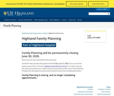 STD Testing at Highland Hospital