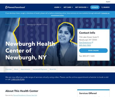 STD Testing at Planned Parenthood - Newburgh Health Center