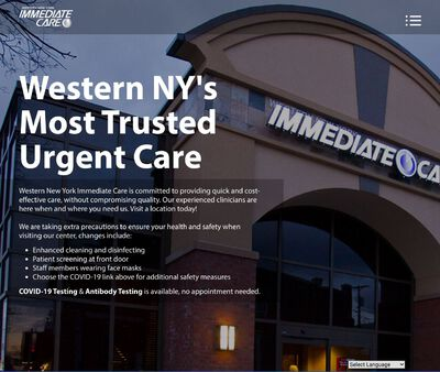STD Testing at Western New York Immediate Care - Williamsville