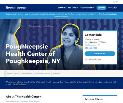 STD Testing at Planned Parenthood of the Mid-Hudson Valley Incorporated, PoughkeepsieHealth Center