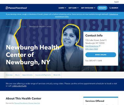 STD Testing at Planned Parenthood - Newburgh Health Center