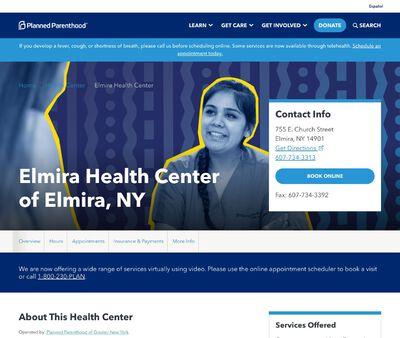 STD Testing at Planned Parenthood - Elmira Health Center