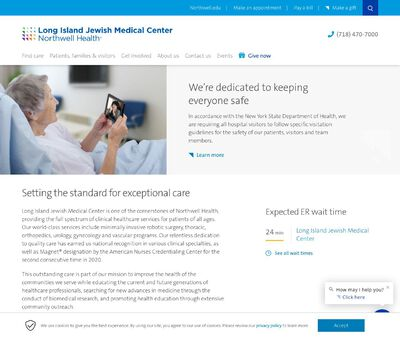 STD Testing at Long Island Jewish Medical Center