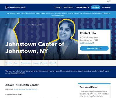 STD Testing at Planned Parenthood - Johnstown Health Center
