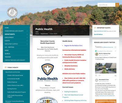 STD Testing at Rensselaer County Department Of Health