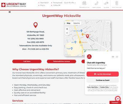 STD Testing at UrgentWay Hicksville