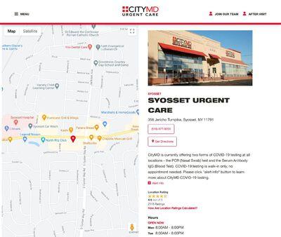 STD Testing at CityMD Syosset Urgent Care - Long Island