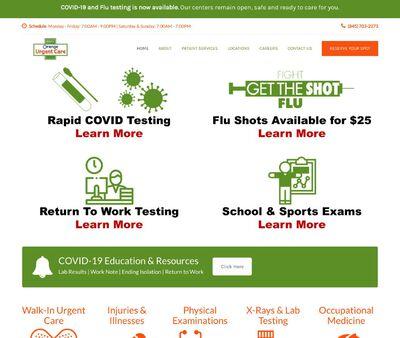 STD Testing at Orange Urgent Care