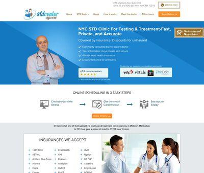 STD Testing at STD Center NYC