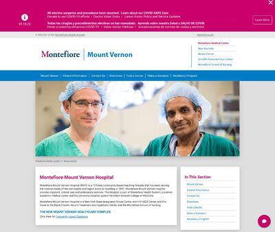 STD Testing at Montefiore Mount Vernon Hospital