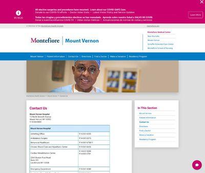 STD Testing at Montefiore Mount Vernon Hostpital
