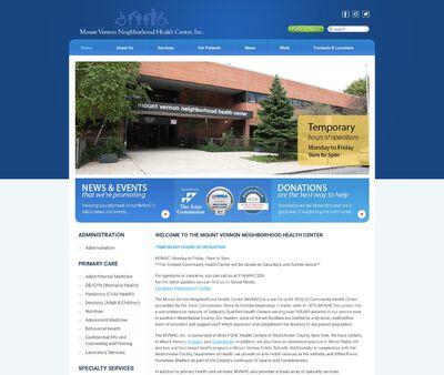 STD Testing at Mount Vernon Neighborhood Health Center Network