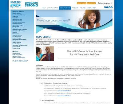 STD Testing at Riverside Health Hope Center
