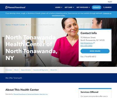STD Testing at Planned Parenthood - North Tonawanda Office Health Center