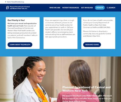 STD Testing at Planned Parenthood of Central and Western New York Incorporated, Rochester Health Center