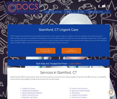 STD Testing at DOCS Urgent Care Stamford