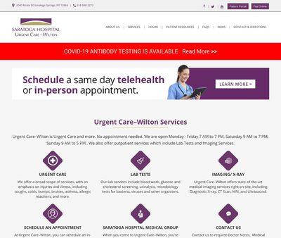 STD Testing at Saratoga Hospital Urgent Care – Wilton