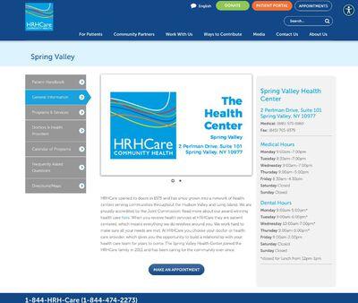 STD Testing at Hudson River HealthCare (Health Center at Spring Valley)