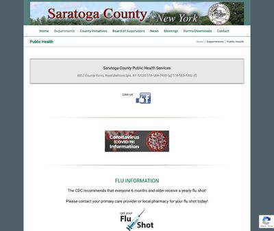 STD Testing at Saratoga County Public Health Services