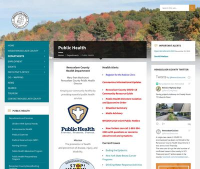 STD Testing at Rensselaer County Public Health Department (Troy Office)