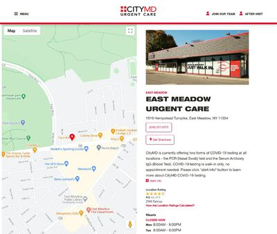 STD Testing at CityMD East Meadow Urgent Care - Long Island