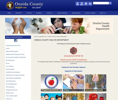 STD Testing at Onieda County Health Department, Utica