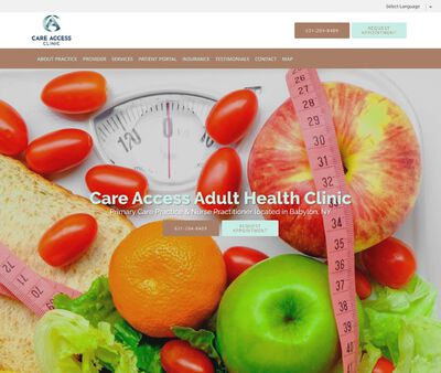 STD Testing at Care Access Adult Health Clinic