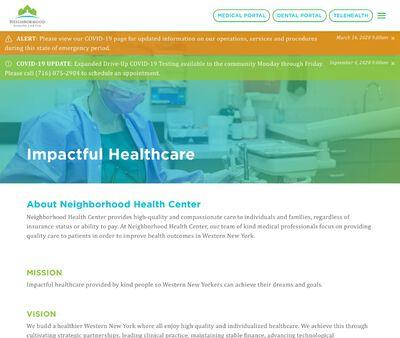 STD Testing at Neighborhood Health Center (The Buffalo Health Center)