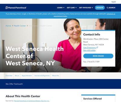 STD Testing at Planned Parenthood- West Seneca Health Center