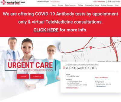 STD Testing at AFC Urgent Care Yorktown Heights