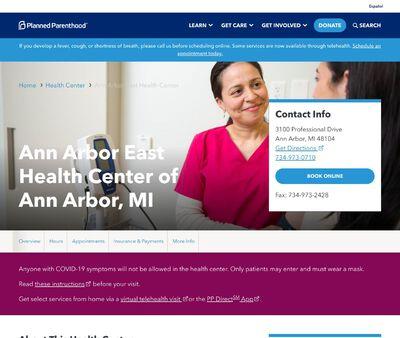 STD Testing at Planned Parenthood - Ann Arbor Health Center