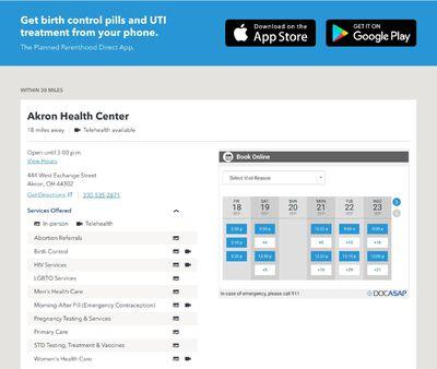 STD Testing at Planned Parenthood – Medina Health Center