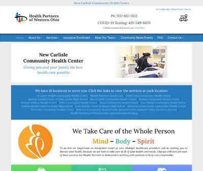 STD Testing at Health Partners of Western Ohio (New Carlisle Community Health Center)