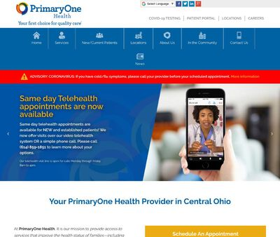 STD Testing at Primary One Health Parsons Avenue Health Center