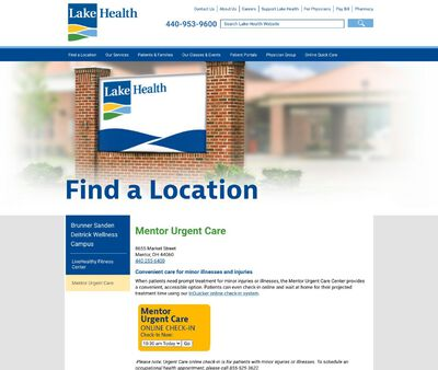 STD Testing at Mentor Urgent Care