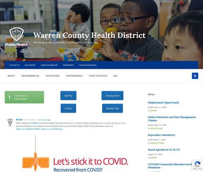 STD Testing at Warren County Combined Health District