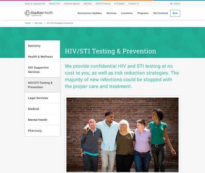 STD Testing at Equitas Health
