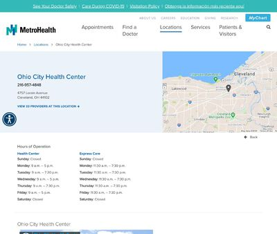 STD Testing at Thomas F. McCafferty Health Center