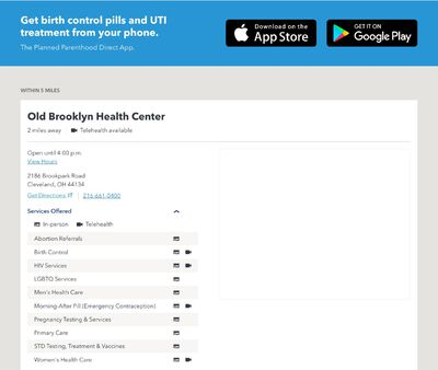 STD Testing at Planned Parenthood – Old Brooklyn Health Center